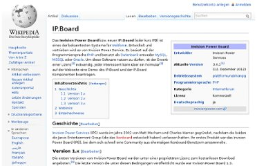 http://de.wikipedia.org/wiki/IP.Board