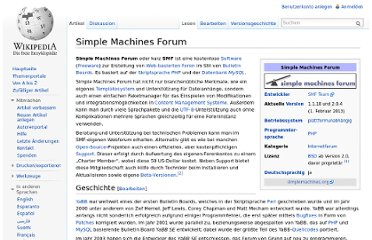 http://de.wikipedia.org/wiki/Simple_Machines_Forum