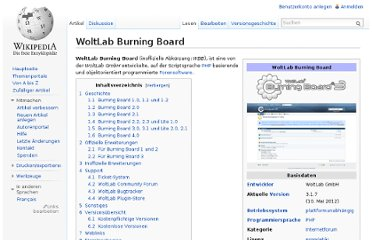 http://de.wikipedia.org/wiki/WoltLab_Burning_Board