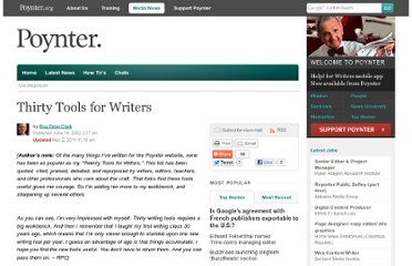 http://www.poynter.org/uncategorized/716/thirty-tools-for-writers/