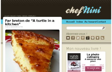 http://www.chefnini.com/far-breton-turtle-in-kitchen/