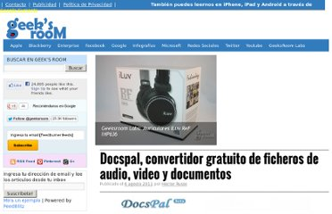http://geeksroom.com/2011/08/docspal-convertidor-gratuito-de-ficheros-de-audio-video-y-documentos/52375/