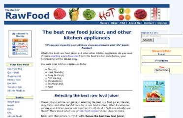 http://www.thebestofrawfood.com/best-raw-food-juicer.html