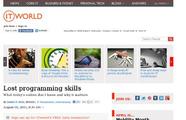 http://www.itworld.com/it-managementstrategy/190213/lost-programming-skills