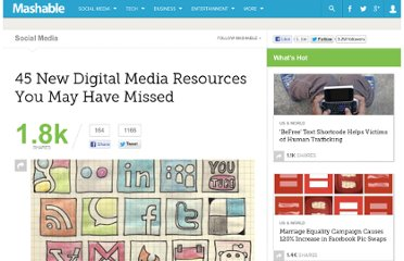 http://mashable.com/2011/08/06/digital-media-resources-26/