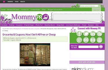 http://www.mommypr.com/2011/07/groceries-coupons-how-i-get-it-all-free-or-cheap/