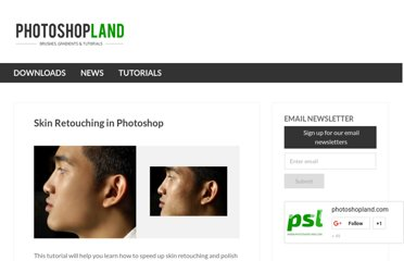 http://photoshopland.com/tutorials/photo-retouching/skin-retouching-in-photoshop/