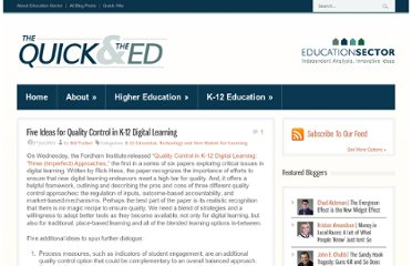 http://www.quickanded.com/2011/07/five-ideas-for-quality-control-in-k-12-digital-learning.html