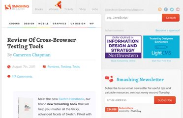 http://www.smashingmagazine.com/2011/08/07/a-dozen-cross-browser-testing-tools/