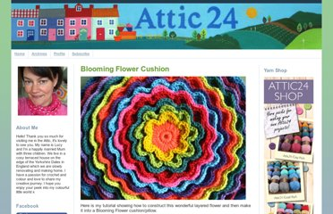 http://attic24.typepad.com/weblog/blooming-flower-cushion.html
