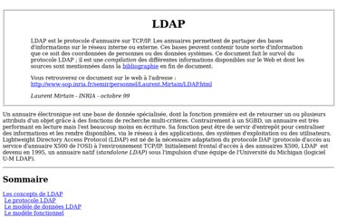 http://www-sop.inria.fr/members/Laurent.Mirtain/ldap-livre.html