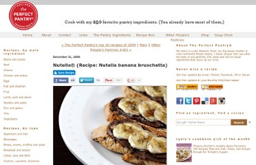 http://www.theperfectpantry.com/2009/12/nutella-recipe-banana-bruscetta.html