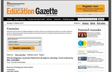http://www.edgazette.govt.nz/Vacancies/Default.aspx