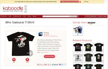 http://www.kaboodle.com/reviews/afro-samurai-t-shirt