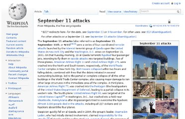 http://en.wikipedia.org/wiki/September_11_attacks