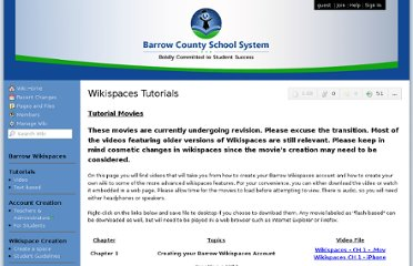 http://www.barrow.wikispaces.net/Wikispaces+Tutorials?responseToken=cfcfe586f06efc4d071132404d0894dc
