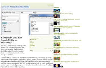 http://lifehacker.com/5828704/filesearchex-is-a-fast-search-utility-for-windows-7