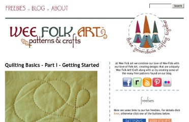 http://weefolkart.com/content/quilting-basics-part-i-getting-started
