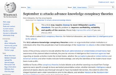 http://en.wikipedia.org/wiki/September_11_attacks_advance-knowledge_debate