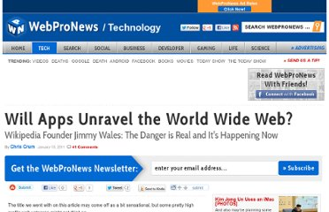 http://www.webpronews.com/will-apps-unravel-the-world-wide-web-2011-01