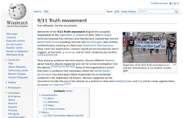 http://en.wikipedia.org/wiki/9/11_Truth_movement