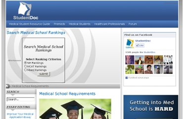 http://www.studentdoc.com/medical-school-requirements.html