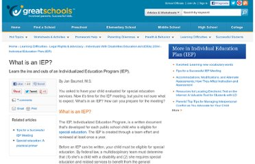 http://www.greatschools.org/special-education/legal-rights/513-what-is-an-iep.gs