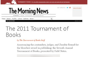 http://www.themorningnews.org/article/the-2011-tournament-of-books