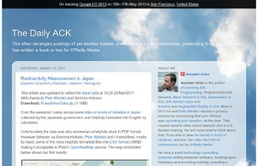 http://www.dailyack.com/2011/03/radioactivity-measurement-in-japan.html