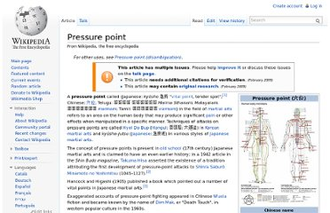 http://en.wikipedia.org/wiki/Pressure_point