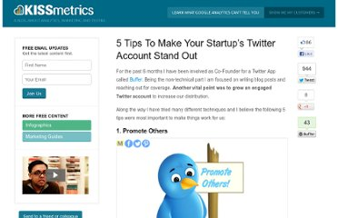 http://blog.kissmetrics.com/startups-and-twitter/