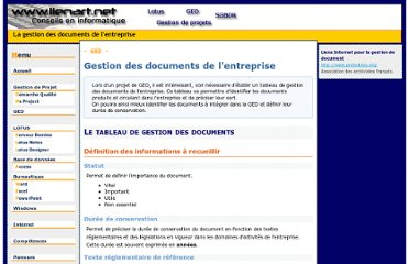 http://xavier.lienart.pagesperso-orange.fr/ged/gestion_document_entreprise.html