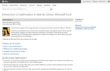 http://office.microsoft.com/fr-be/excel-help/introduction-a-l-optimisation-a-l-aide-du-solveur-microsoft-excel-HA001124595.aspx