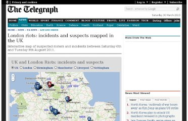 http://www.telegraph.co.uk/news/uknews/law-and-order/8689355/London-riots-all-incidents-mapped-in-London-and-around-the-UK.html
