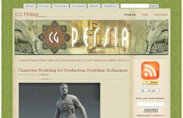 http://cgpersia.com/2011/02/character-modeling-for-production-modeling-techniques-13895.html