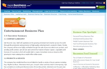 http://www.morebusiness.com/entertainment-business-plan