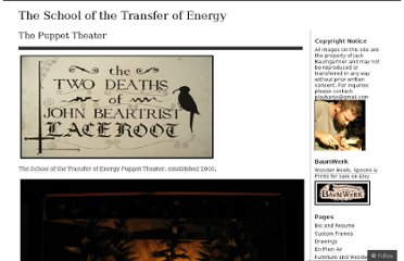 http://theschoolofthetransferofenergy.com/the-puppet-theater/