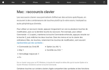 http://support.apple.com/kb/HT1343?viewlocale=fr_FR&locale=fr_FR