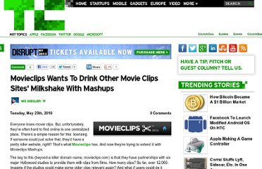 http://techcrunch.com/2010/05/25/movieclips-wants-to-drink-other-movie-clips-sites-milkshake-with-mashups/