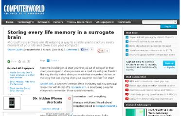 http://www.computerworld.com.au/article/211013/storing_every_life_memory_surrogate_brain/
