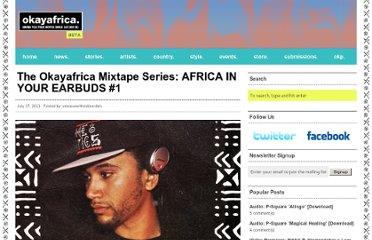 http://www.okayafrica.com/2011/07/17/the-okayafrica-mixtape-series-africa-in-your-earbuds-1/
