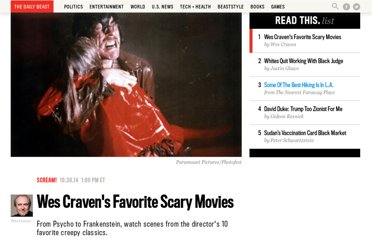 http://www.thedailybeast.com/articles/2010/10/24/best-horror-movies-chosen-by-wes-craven.html