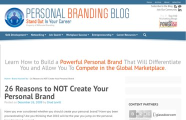 http://www.personalbrandingblog.com/26-reasons-to-not-create-your-personal-brand/