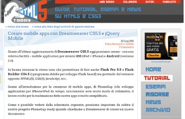 http://www.html5today.it/tutorial/creare-mobile-apps-dreamweaver-cs55-jquery-mobile