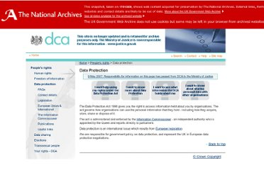 http://webarchive.nationalarchives.gov.uk/+/http://www.dca.gov.uk/foi/datprot.htm