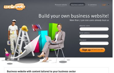 http://www.webnode.com/business-websites/