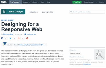 http://webdesign.tutsplus.com/articles/design-theory/designing-for-a-responsive-web/
