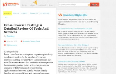 http://coding.smashingmagazine.com/2010/06/04/cross-browser-testing-a-detailed-review-of-tools-and-services/