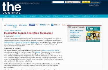 http://thejournal.com/articles/2011/08/09/closing-the-loop-in-education-technology.aspx