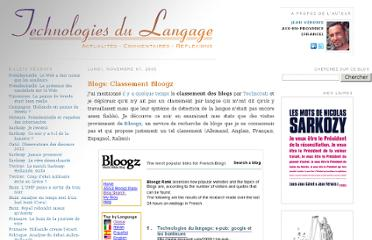 http://blog.veronis.fr/2005/11/blogs-classement-bloogz.html